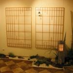 Японский сад в интерьере