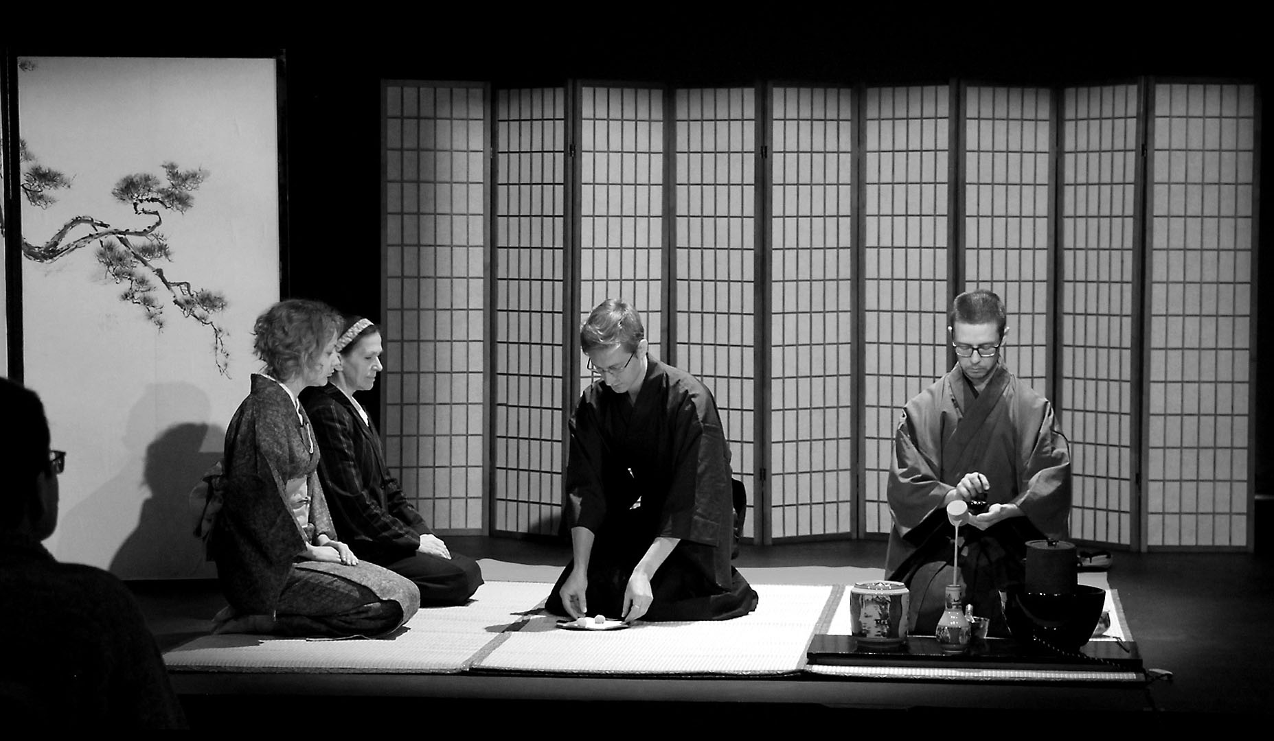 Чайная церемония Омотэ Сэнкэ 表千家